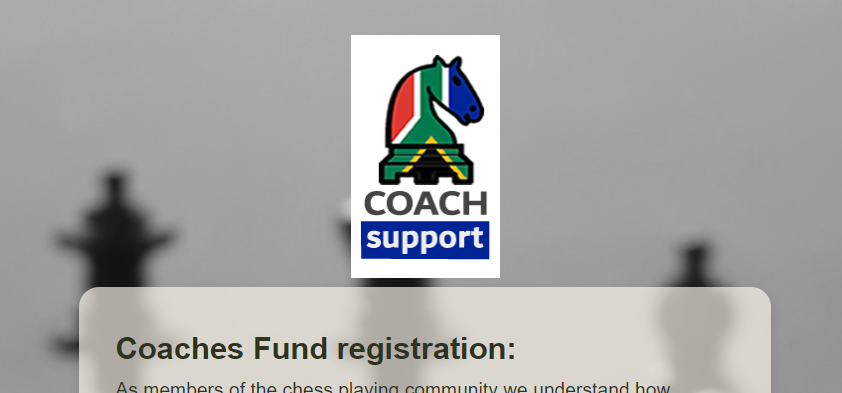 Coach Support registration